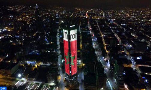 Colombie : Bogotá s'illumine aux couleurs du Maroc à l'occasion de la Fête du Trône