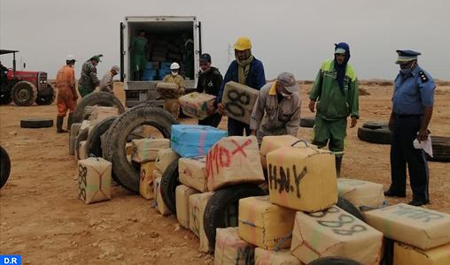 La Direction Interrégionale des douanes d'Agadir détruit une grande quantité de drogues