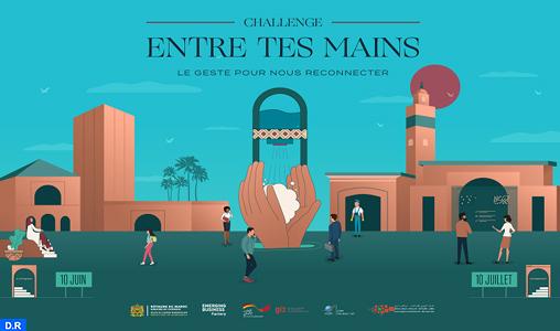 """Marrakech : """"Washn'go"""" remporte le challenge """"Entre tes mains"""" pour un concept du lavage des mains dans les espaces publics"""