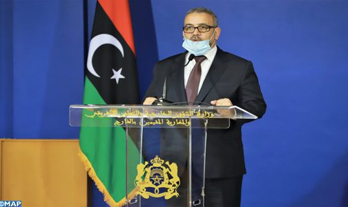 """""""Nous sommes fermement convaincus que la solution doit obligatoirement être libyenne"""" (Président du Haut conseil d'Etat libyen)"""
