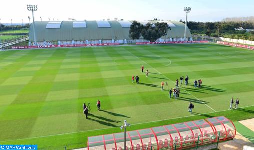 Football: La sélection nationale U17 entame ses entraînements vendredi à Maâmoura
