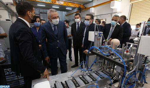 Casablanca: Présentation d'une machine 100% marocaine pour la fabrication de masques de protection