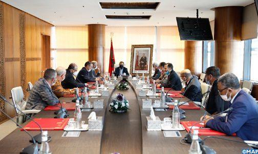 Tempête de grêles: M. El Otmani reçoit une délégation des parlementaires de la région Fès-Meknès