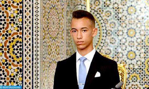 """SAR le Prince Héritier Moulay El Hassan décroche le baccalauréat session-2020 avec mention """"très bien"""""""