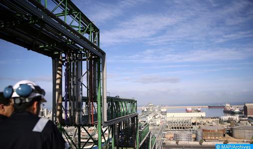 Jorf Lasfar: le Groupe OCP construit une nouvelle usine de production d'acide phosphorique purifié