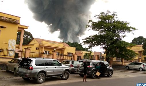 RDC: incendie dans les entrepôts de l'Unicef à Kinshasa