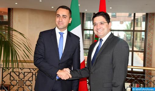 Luigi Di Maio exprime l'appréciation de Rome à l'égard du rôle joué par le Maroc pour la résolution de la crise libyenne