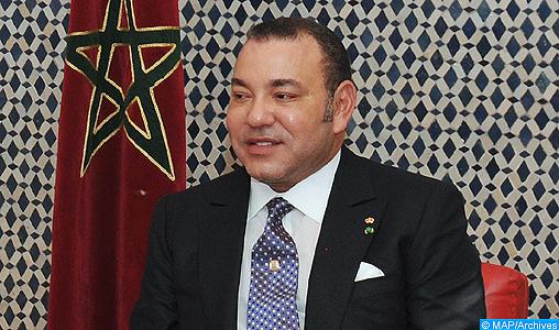 Message de félicitations à SM le Roi du Souverain de Jordanie à l'occasion de la Fête du Trône