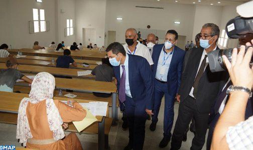 Facultés de médecine: le concours commun d'accès vise à assurer l'égalité des chances (M. Amzazi)