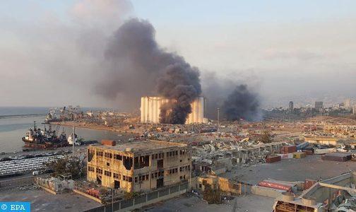 Explosion à Beyrouth: Deux morts et 93 blessés de nationalité française