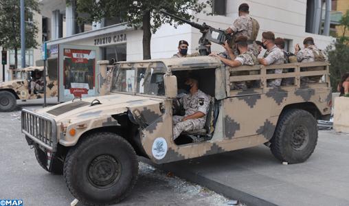 Liban: le Parlement entérine l'état d'urgence à Beyrouth
