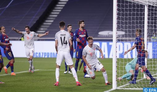 Ligue des champions: Le Bayern Munich s'impose contre Barcelone (8-2) et se qualifie en demies