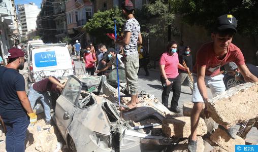 Explosions au Liban: 113 morts et 4.000 blessés (nouveau bilan)