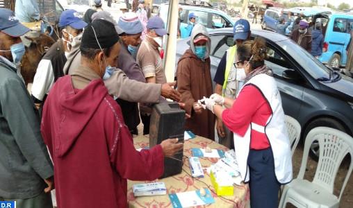 Essaouira : Campagne de sensibilisation pour la prévention de la Covid-19 à El Hanchane
