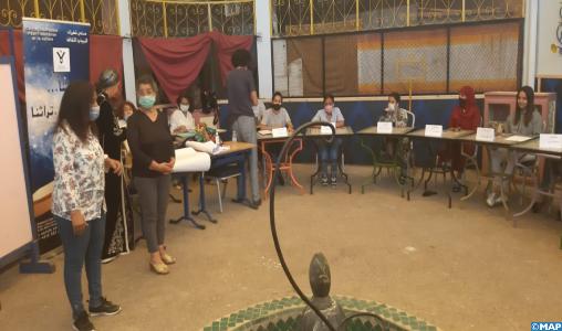 """Marrakech : """"Hikayat Shahrazad"""", une revivification de l'art populaire au service des nobles valeurs humaines"""