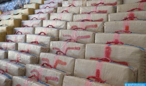 El Guergarat: Mise en échec d'une tentative de trafic de 513 kilogrammes de chira