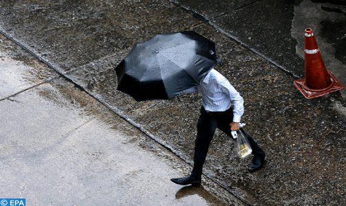 Averses orageuses localement fortes ce lundi dans plusieurs provinces du Royaume (Bulletin spécial)