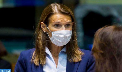 Belgique: L'ex-Première ministre Sophie Wilmès testée positive au coronavirus