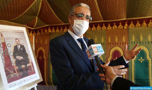 Marrakech : M. Rebbah s'informe du bon fonctionnement du réseau d'alimentation en électricité