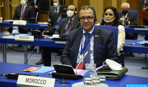 Le Maroc réitère son plein soutien aux efforts déployés par l'AIEA dans le développement de l'énergie et des technologies nucléaires à des fins pacifiques