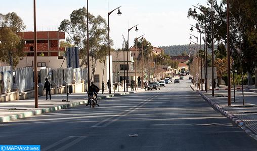 Le processus de mise à niveau urbaine des villes de Jerada et Taourirt se poursuit et se conforte