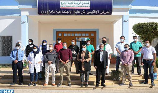 Le centre d'assistance sociale d'Imzouren, une cellule pour soutenir les groupes vulnérables