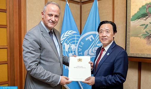 FAO: Le Maroc pleinement engagé dans les actions en faveur de la sécurité alimentaire en Afrique (ambassadeur)
