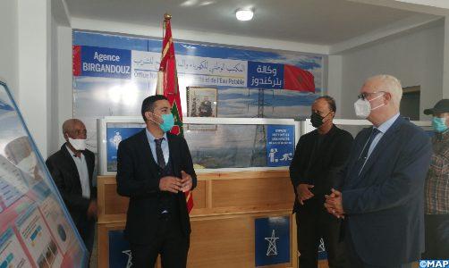 Province d'Aousserd: Suivi de la réalisation des projets sectoriels