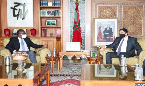 Le renforcement de la coopération bilatérale au cœur d'entretiens entre M. Bourita et son homologue rwandais