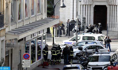 France: un mort et des blessés dans une attaque au couteau dans la basilique de Nice