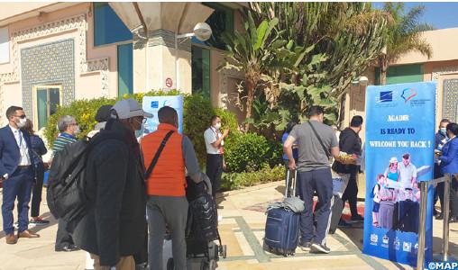 Relance progressive du tourisme national : Agadir accueille un premier groupe de touristes britanniques