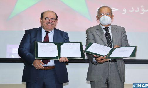 Rabat : Signature d'une convention de partenariat sur le plaidoyer au sujet de la question du Sahara marocain