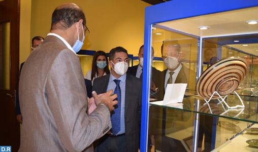 M. Amzazi visite le Musée national de la céramique à Safi