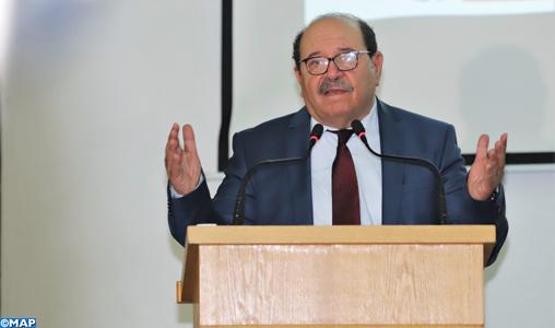 """L'intervention pacifique à El Guergarat démontre l'importance de développer la recherche sur la question du Sahara pour faire face aux mensonges du """"polisario"""" (Boussouf)"""