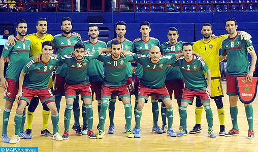 Futsal: le Maroc 14è mondial