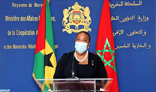 El Guergarat: La République de Sao Tomé-et-Principe exprime son soutien aux actions pacifiques entreprises par le Maroc