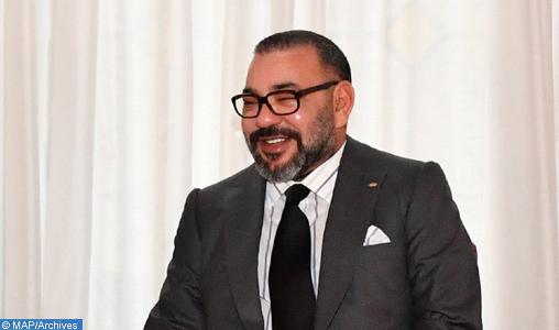 SM le Roi félicite le président de la République du Suriname à l'occasion de la fête nationale de son pays