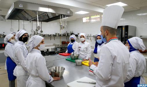 Le centre Lalla Meryem de formation par apprentissage à Tétouan, un espace d'apprentissage et d'épanouissement des jeunes
