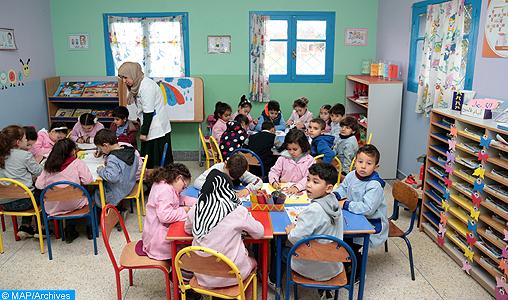 Tanger-Assilah: L'INDH accorde une attention particulière à l'enseignement préscolaire