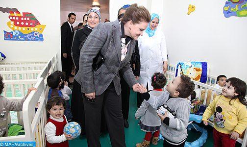 Son Altesse la Princesse Lalla Zineb, Préside l'Assemblée Générale de la Ligue Marocaine pour la Protection de l'Enfance