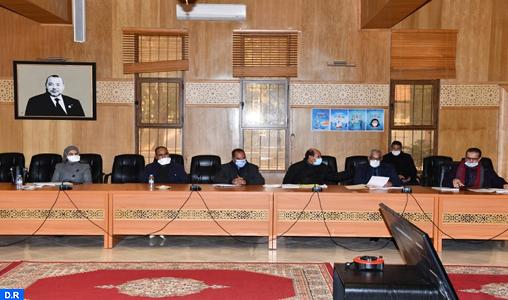 Le Conseil provincial de Rehamna approuve plusieurs projets de conventions de partenariat