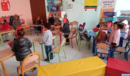 Province de Jerada : l'INDH apporte un appui de taille au secteur de l'éducation