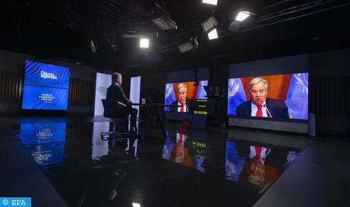 Le Forum de Davos au chevet d'un monde fragilisé par la pandémie