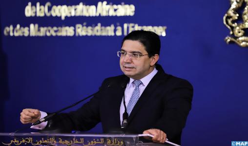 La question du Sahara marocain connaît un nouveau tournant avec des objectifs et des paramètres clairs (M. Bourita)