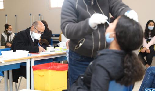 Nouveaux variants de SARS-CoV-2: 1.215 tests de dépistage à Skhirat-Témara