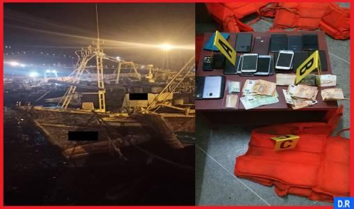 Agadir: mise en échec d'une opération d'émigration clandestine, 4 interpellations