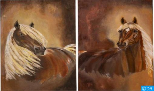 L'artiste-peintre Sonia Bennis expose à Marrakech ses récentes œuvres