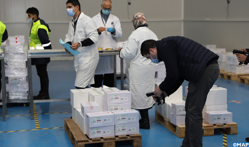 Casablanca: Début de la distribution du vaccin anti-coronavirus sur les régions