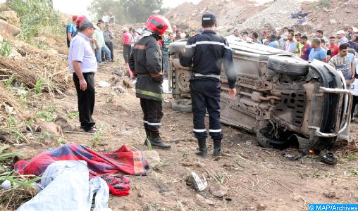 Accidents de la circulation : 19 morts et 1.904 blessés en périmètre urbain la semaine dernière