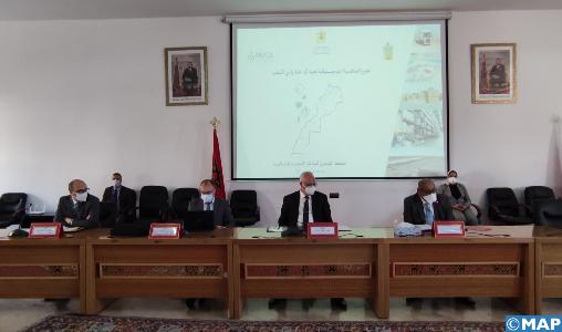 Présentation du schéma directeur des zones logistiques de la région Dakhla Oued Eddahab
